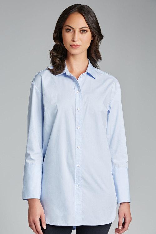 Capture Longline Cotton Shirt