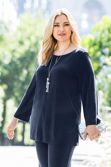 Plus Size - Sara Coupre Knit Tunic