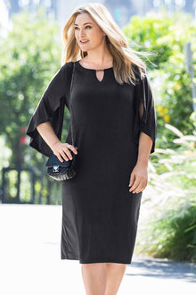 Plus Size - Sara Coupre Knit Dress - 171282