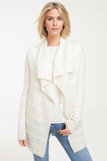 Capture Drape Cable Cardigan