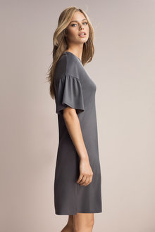 Emerge Dress With Sleeve Detail