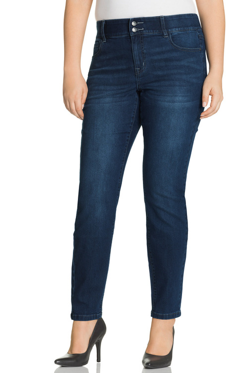 Sara So Slimming Straight Leg Jean