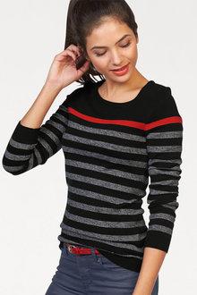 Urban Breton Stripe Pullover