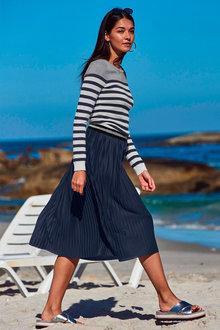 Urban Breton Stripe Pullover - 171385