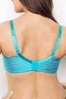 Plus Size - Deesse Stripe Contour Bra