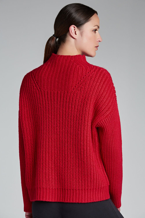 Emerge Funnel Neck Jumper