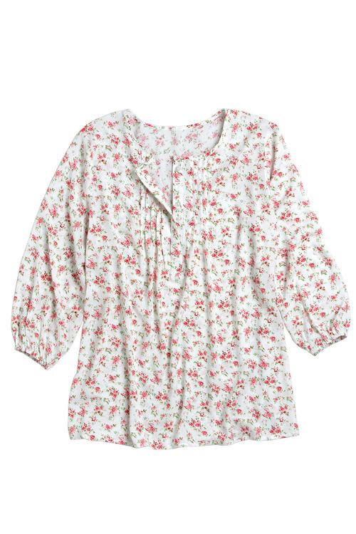 Capture Pintuck Shirt