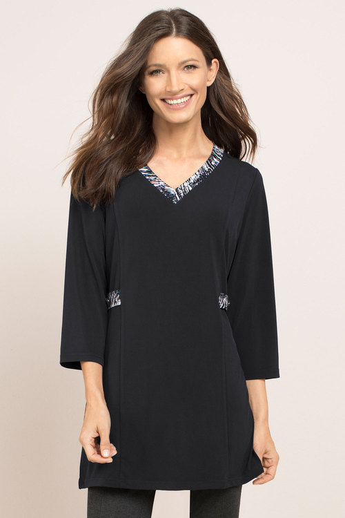 Capture V Neck Tunic