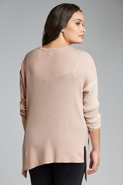 Plus Size - Sara Asymmetric Sweater