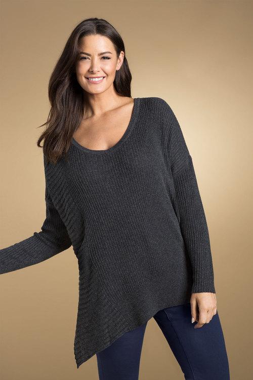 Sara Asymmetric Sweater