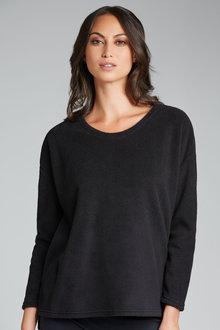 Capture Fleece Slouch Sweater