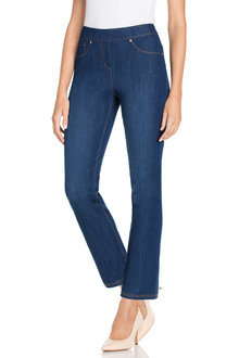 Capture Straight Leg Pull On Superstretch Jean