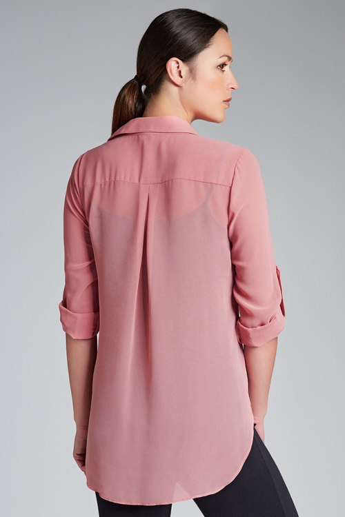 Capture Longline Beaded Shirt