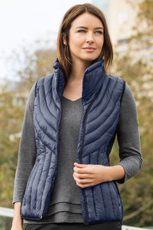 Capture Zip Front Puffer Vest