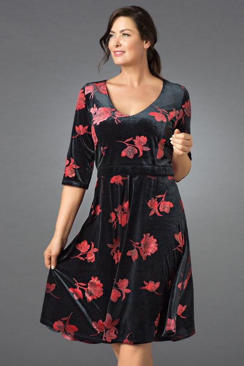 Sara Velvet Dress