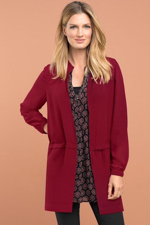 Capture Layered Dresscoat