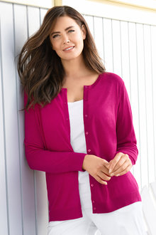 Plus Size - Sara Classic Cardigan