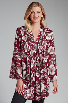 Grace Hill Pleat Front Tunic - 171696