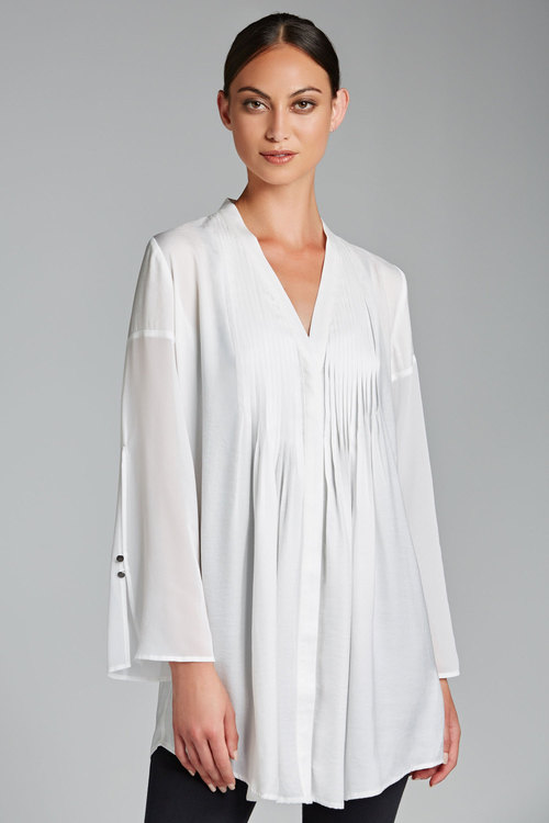 Grace Hill Pleat Front Tunic