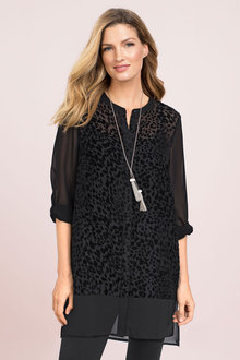 Capture Velvet Devore Shirt - 171698