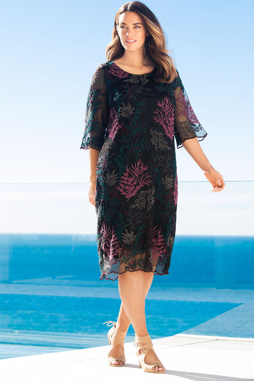 Sara Embroidered Dress