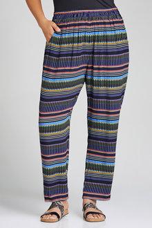 Plus Size - Sara Woven Jogger Pant