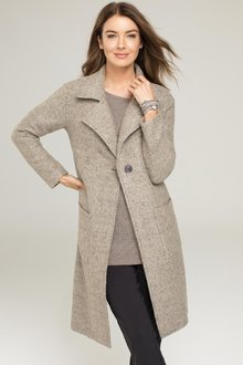 Capture European Wool Blend Coat