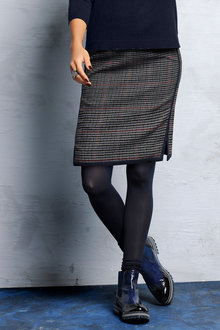 Euro Edit Classic Check Skirt