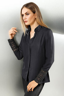 Capture European Lace Cuff Shirt