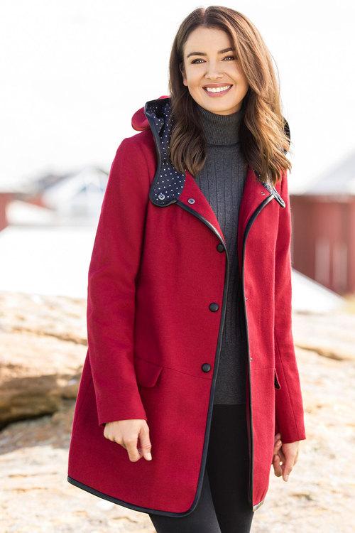 Capture Wool Blend Duffle Coat