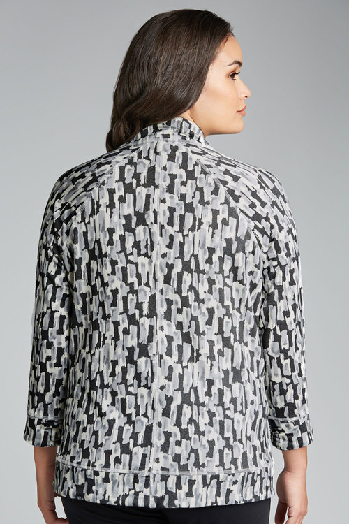 Plus Size - Sara Printed Sweatshirt