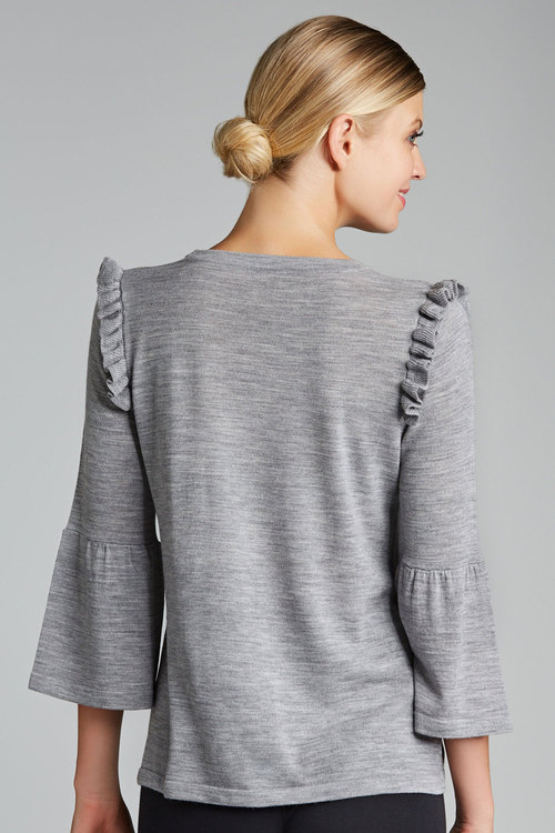 Emerge Merino Bell Sleeve Knit