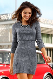 Urban Overlay Knit Dress