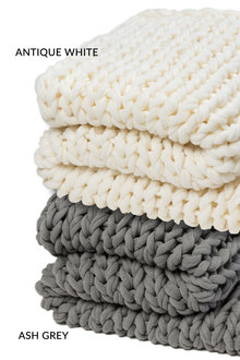 Everest Chunky Knit Throw