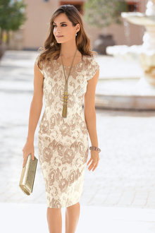 Together Jacquard Dress