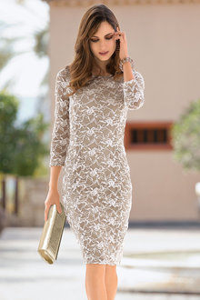 Together Stretch Lace Dress