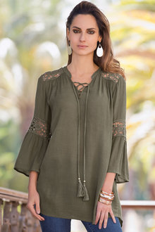Together Lace Detail Tunic