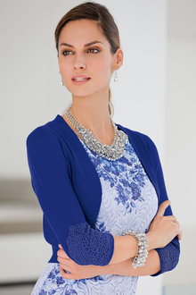 Together Lace Detail Bolero