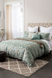 Whitney Jacquard Duvet Cover Set