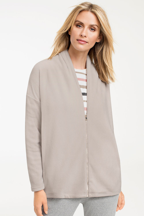 Capture Zip Fleece Cardigan Online | Shop EziBuy