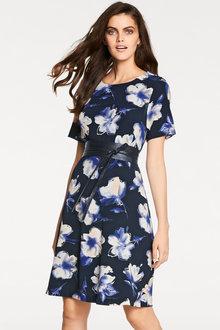 Heine A-Line Printed Dress