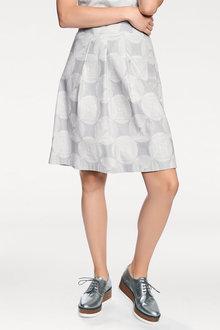 Heine Spot Print Skirt