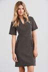 Next Monochrome Spot Jacquard Dress