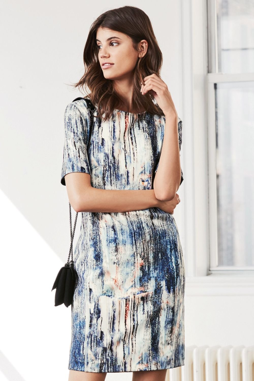 dd8e70a33 Next Multi Printed Scuba Dress - Petite Online | Shop EziBuy