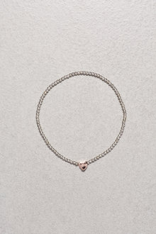 Next Sterling Silver Charm Beady Ball Bracelet