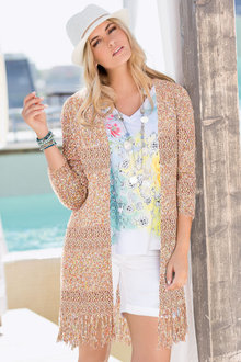 Together Tassel Cardigan