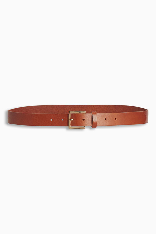 Next Tan Essential Leather Belt
