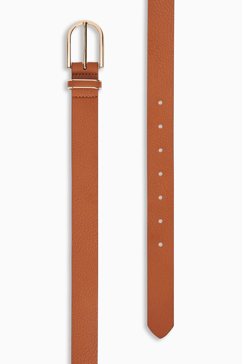 Next Tan Essential PU Belt