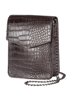 Leather Embossed Croco Bag - 173146