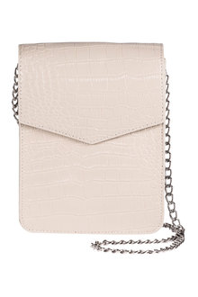 Leather Embossed Croco Bag